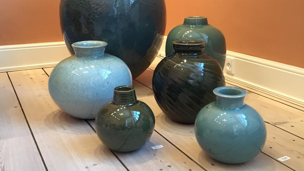 Vaser hos Keramiker Torsten Mosumgaard