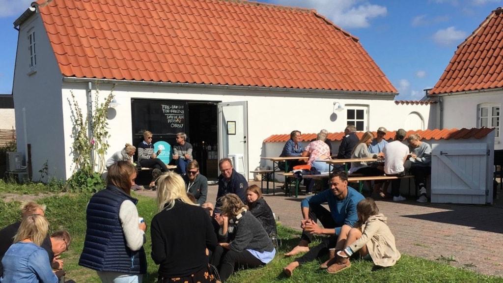 Haandpluk kaffebar og café i Klitmøller