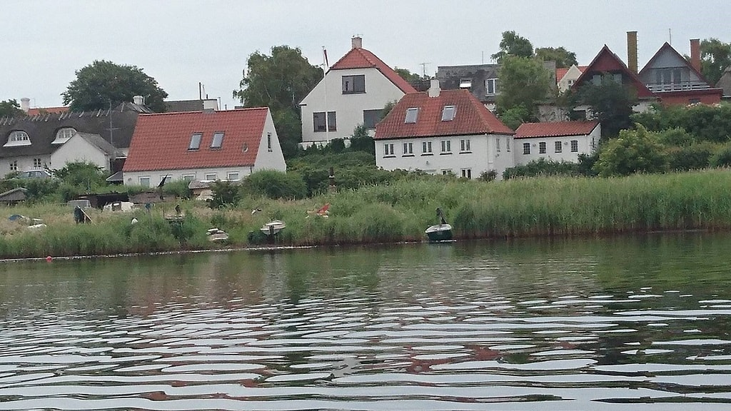 Thorø huse feriehus udefra