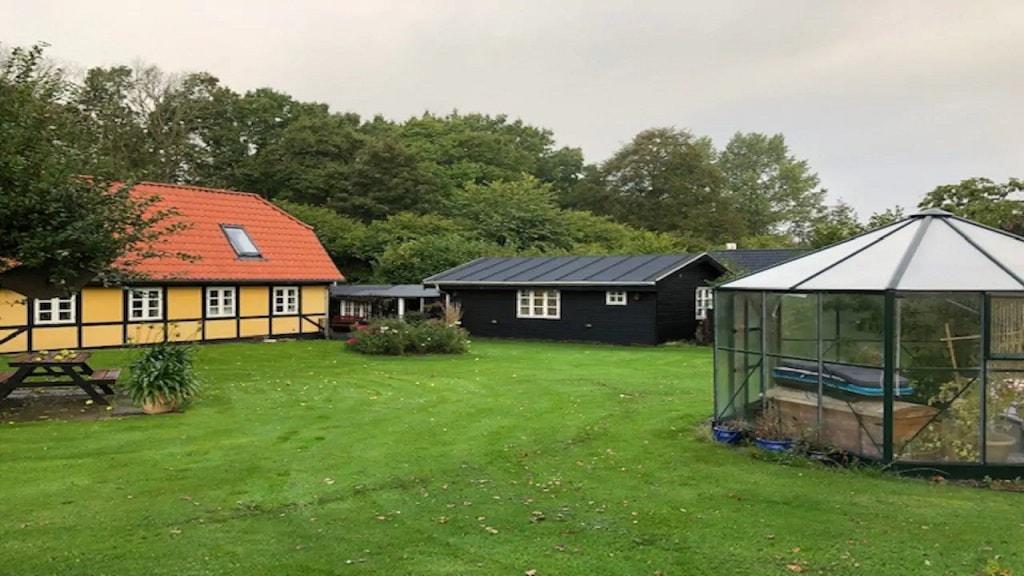 solskins hus i Aborg
