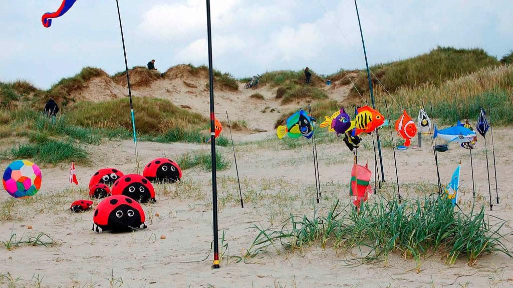 Dragefestival Lakolk Strand på Rømø