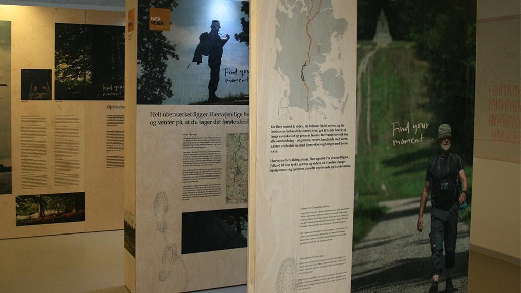 Ancient Road exhibition in Bække