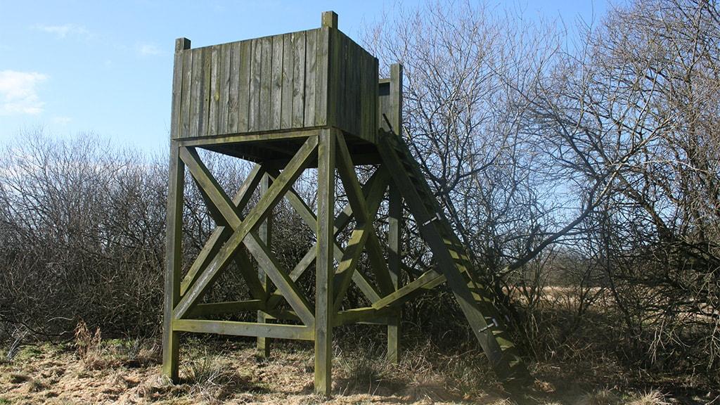 Fugletårnet i Gamst Søenge