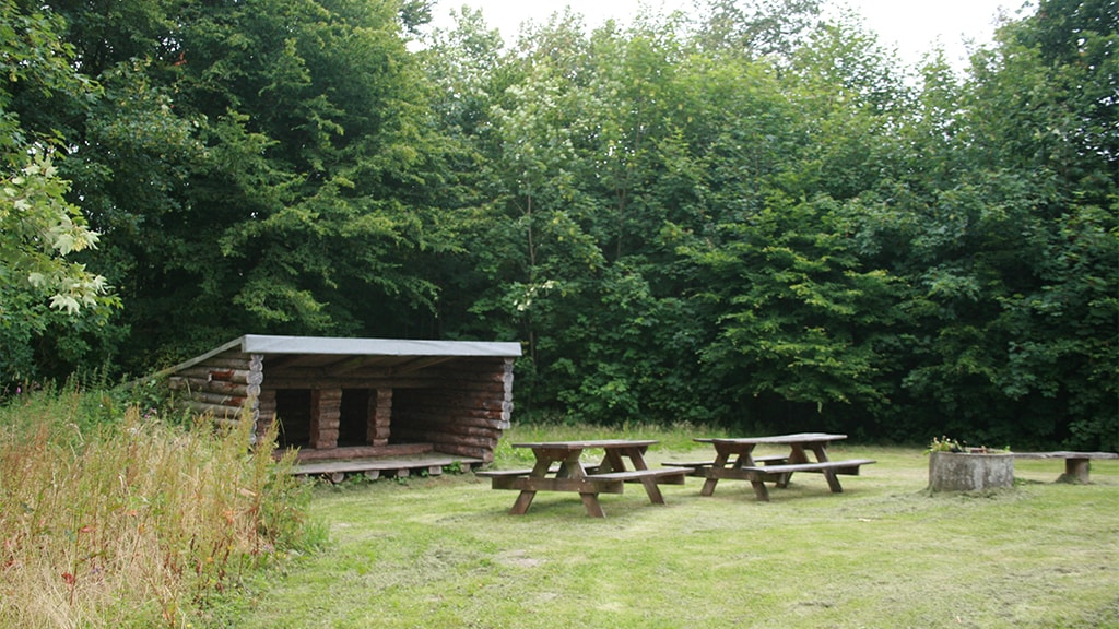 Shelter i Rødding Præsteskov