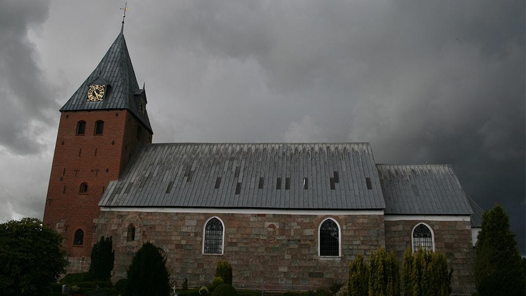 Hygum Kirke, v. Rødding