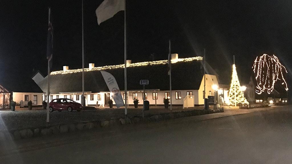 Vinterstemning Hovborg Kro