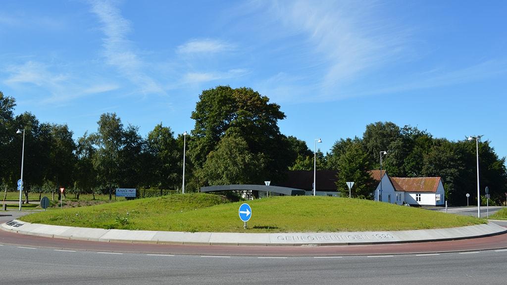 Genforeningsrundkørsel vej 32/403 Skodborghus