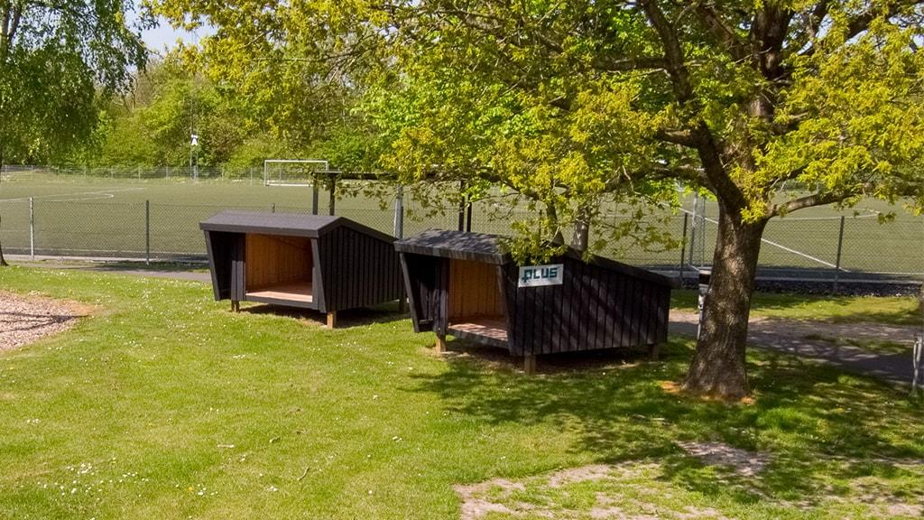 Shelter, tæt ved Sportscenter Danmark