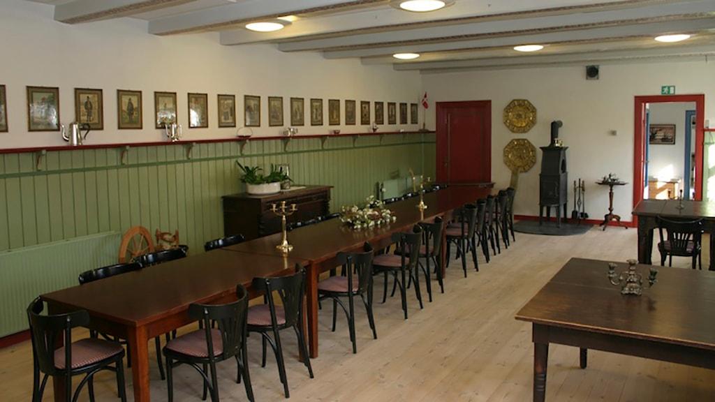 Salen på Bennetgård, Københoved