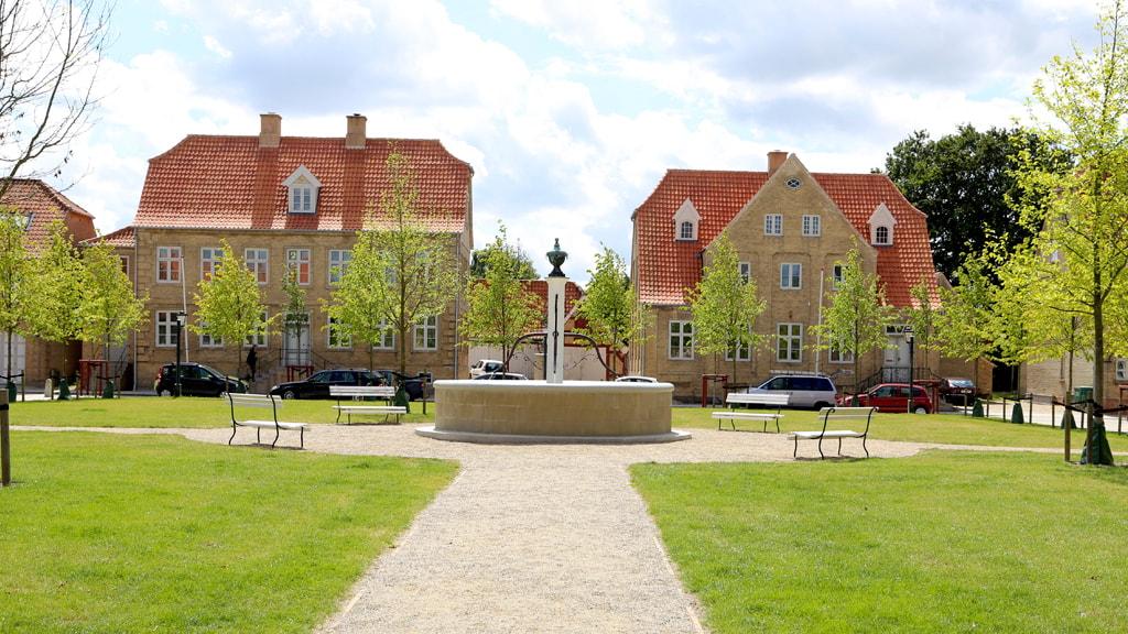 Christiansfeld Kirkeplads