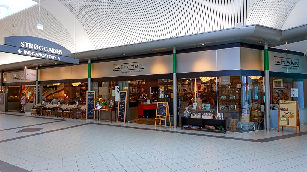 Freds Salatbar i Kolding storcenter
