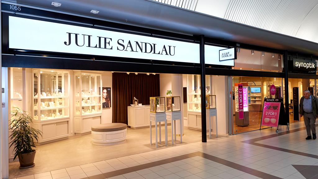 Julie Sandlau i Kolding storcenter