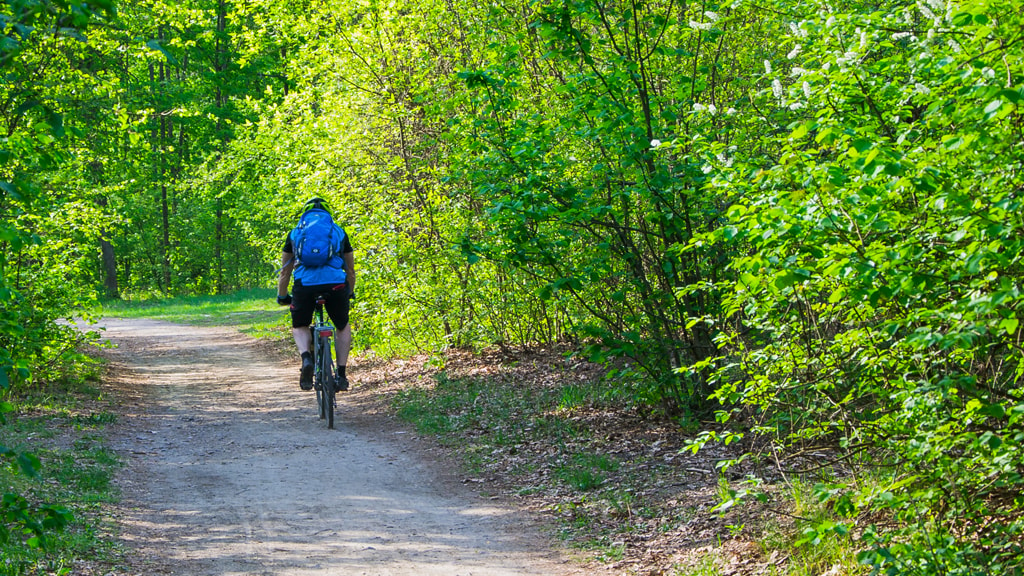 Cykeltur i Kolding på Troldhedestien