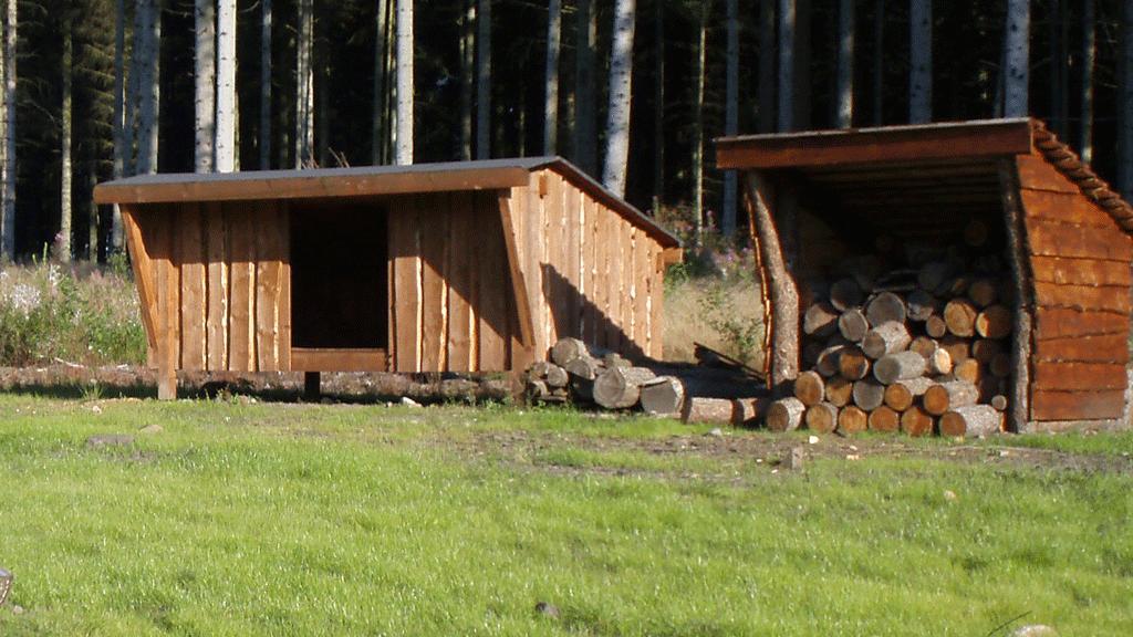 Shelter ved Naturcirklen Sørvad
