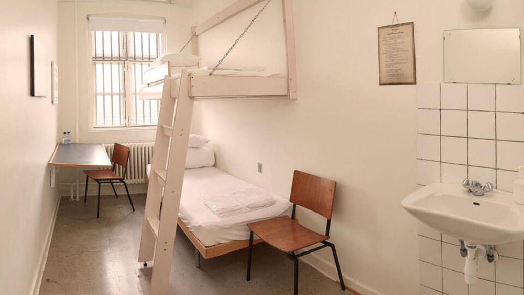 Værelse på SleepIn Fængslet i Horsens