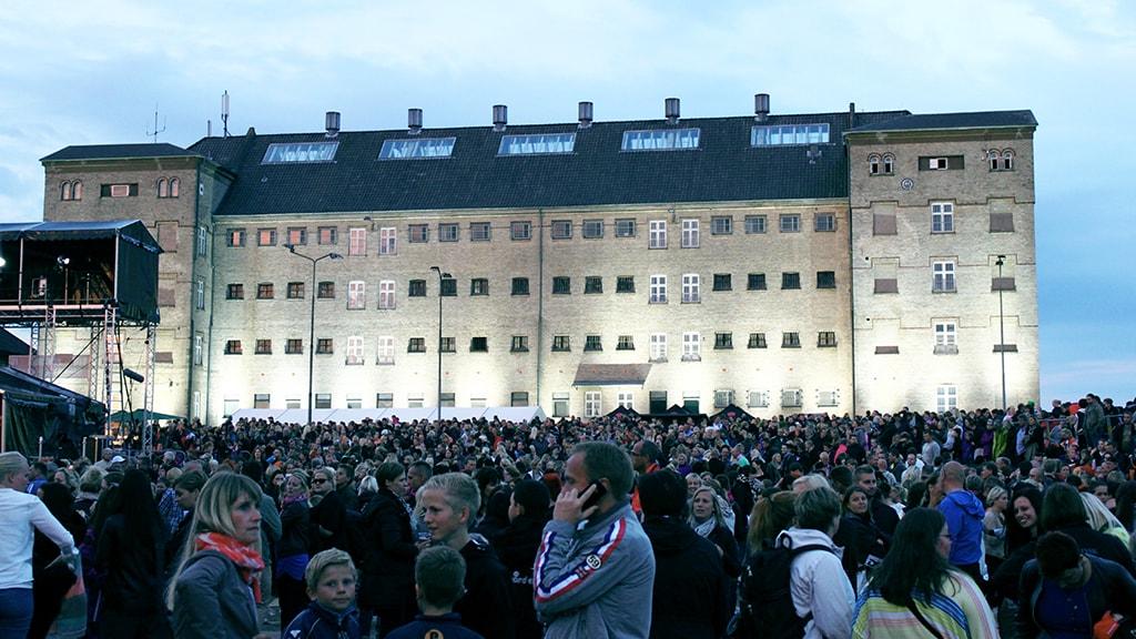 Koncert i fængselsgården på Fængslet i Horsens
