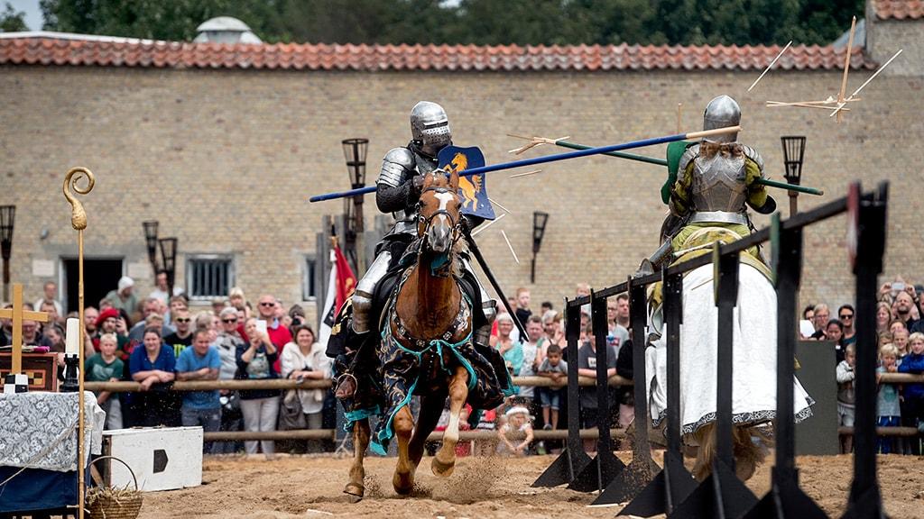 Ridderturnering til Europæisk Middelalder Festival i Horsens