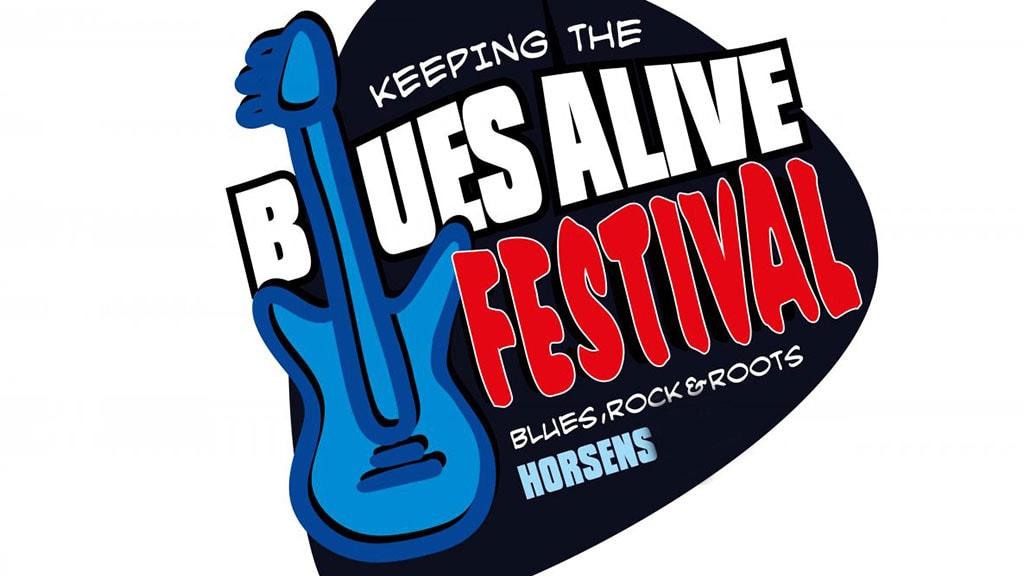 Logoet for Blues Alive Festival