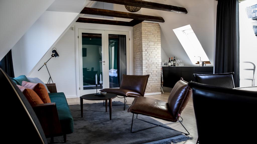 Stuen hos Hotel Møhr i Horsens