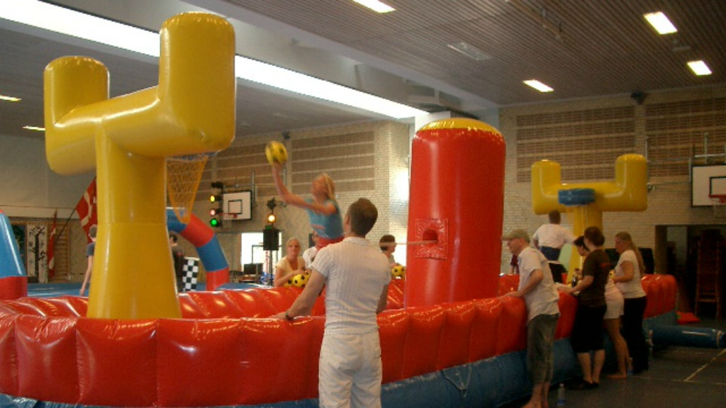 Hoppeborg basketbane hos Horsens Eventcenter