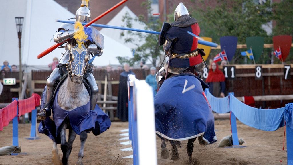 Ridderturnering til Horsens Middelalderfestival