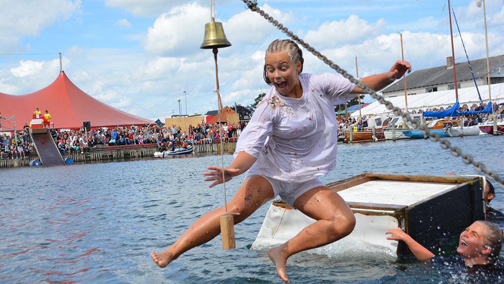 Konkurrencer ved vandet til Hou Havnefest