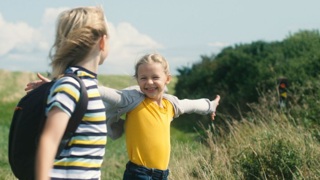 Børn på skattejagt på Tunø