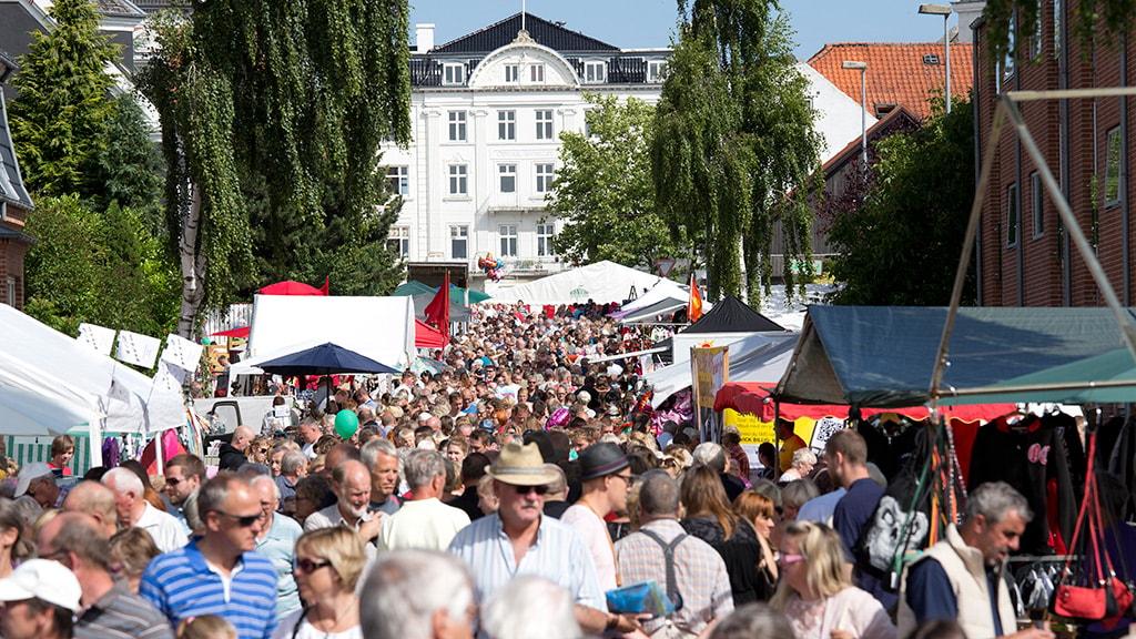 Odder Byfest med Østjyllands Største Kræmmermarked