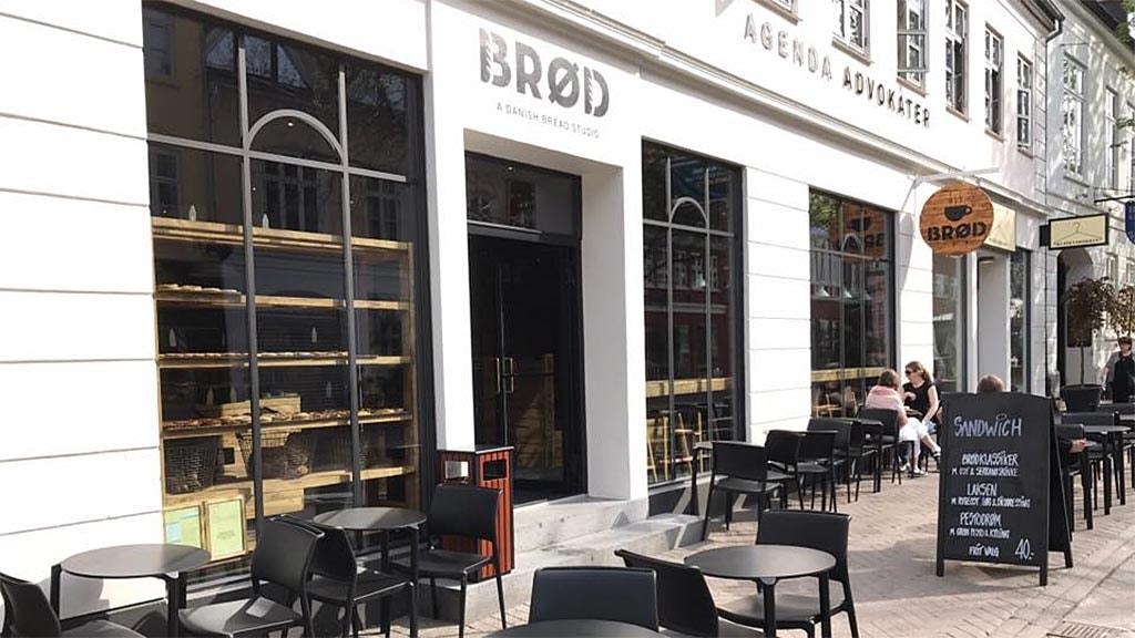 Danish Bread Studios facade i Vestergade