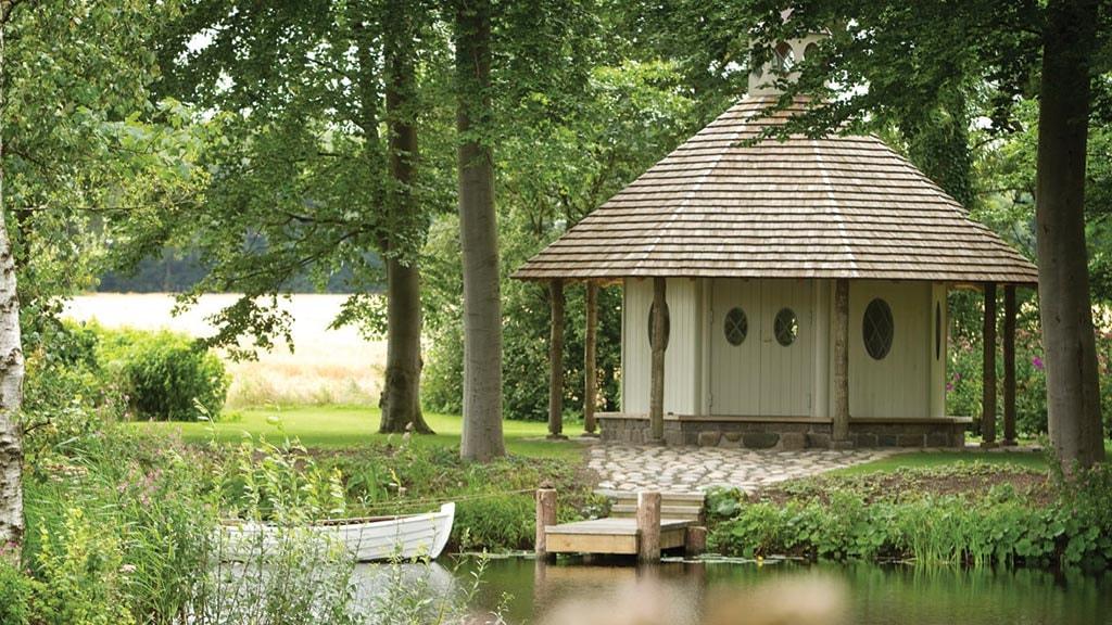 Lysthus i Sanderumgaard Romantiske Have