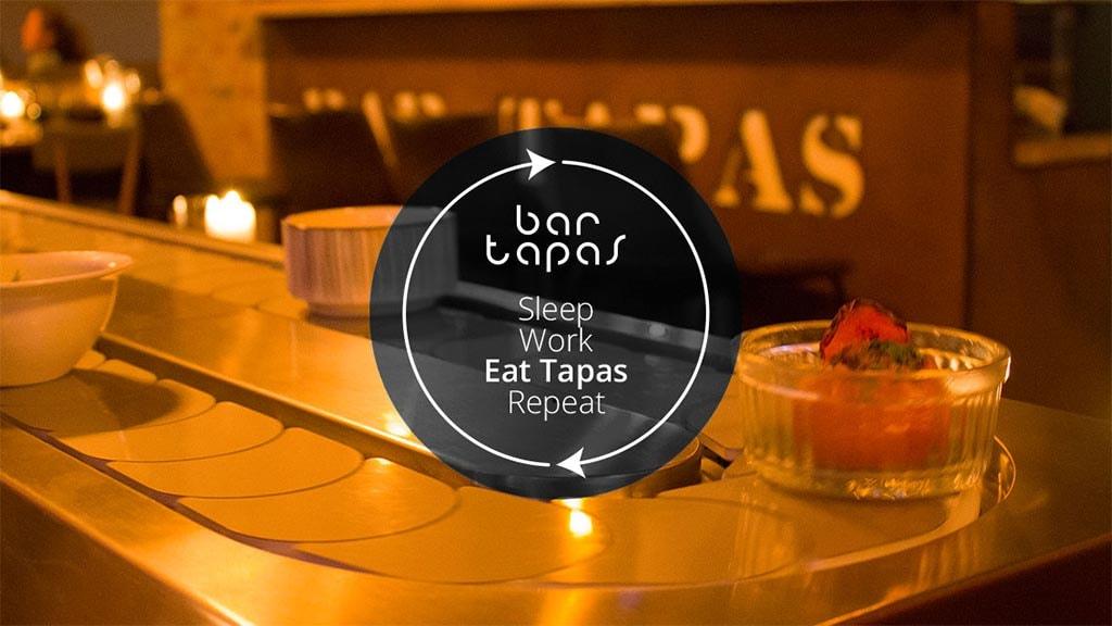 Sleep - Work - Eat Tapas - Repeat