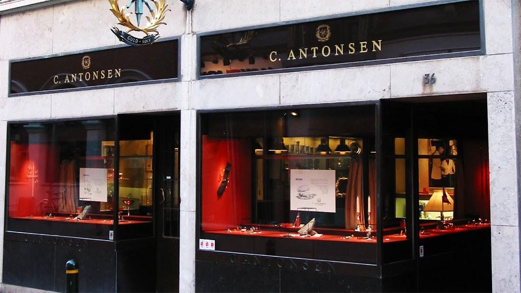 Guldsmed Antonsens facade
