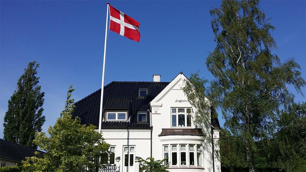 Engholm B&B i Odense - facade