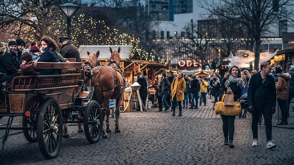 HCA historisk julemarked i Odense