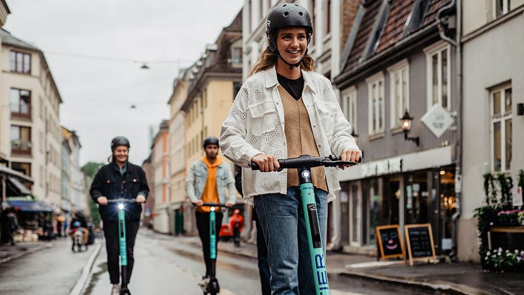 Tier El-løbehjul i Odense