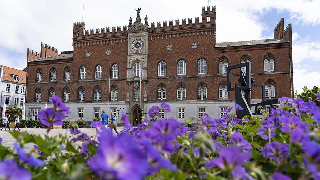 Odense Rådhus sommeren 2019