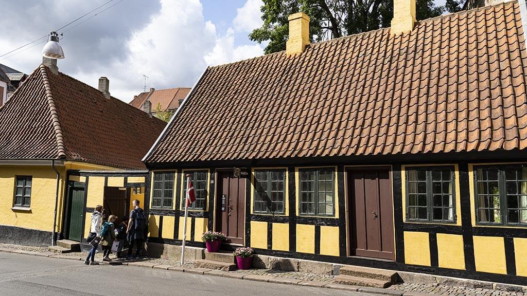 H.C. Andersens Barndomshjem i Munkemøllestræde