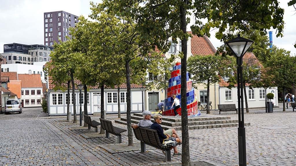 Sortebrødre Torv i Odense