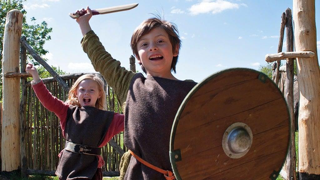 Siggeir und Vigdis haben spaß in Odins Odense