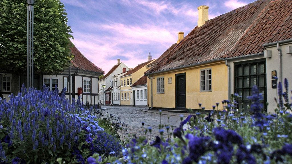 H.C. Andersens Fødehjem i Hans Jensens Stræde