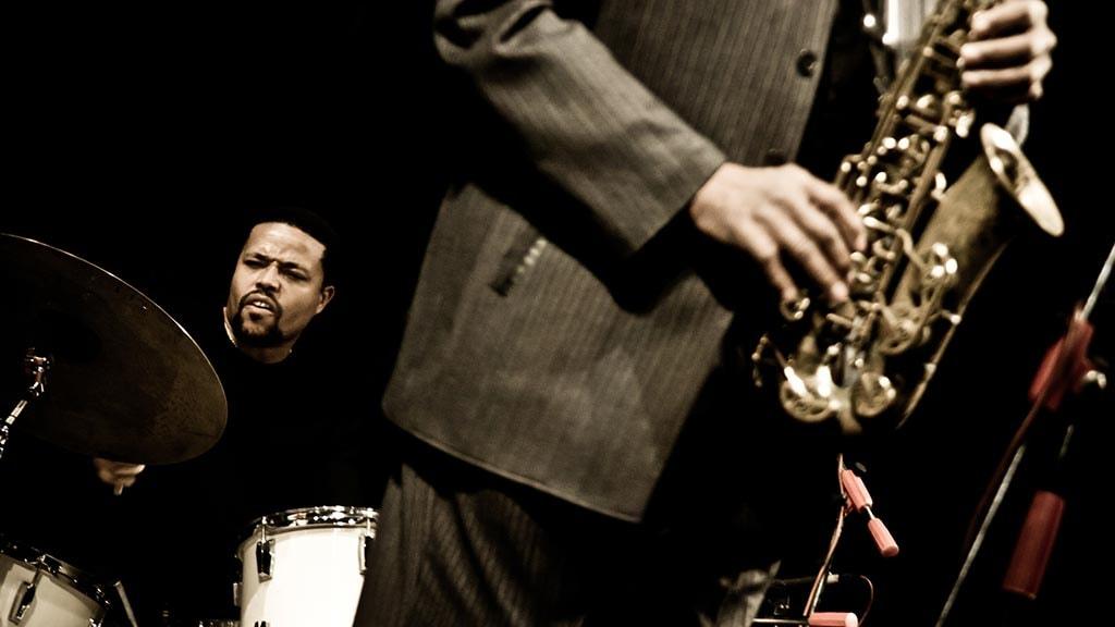 Saxofonspiller - modelfoto