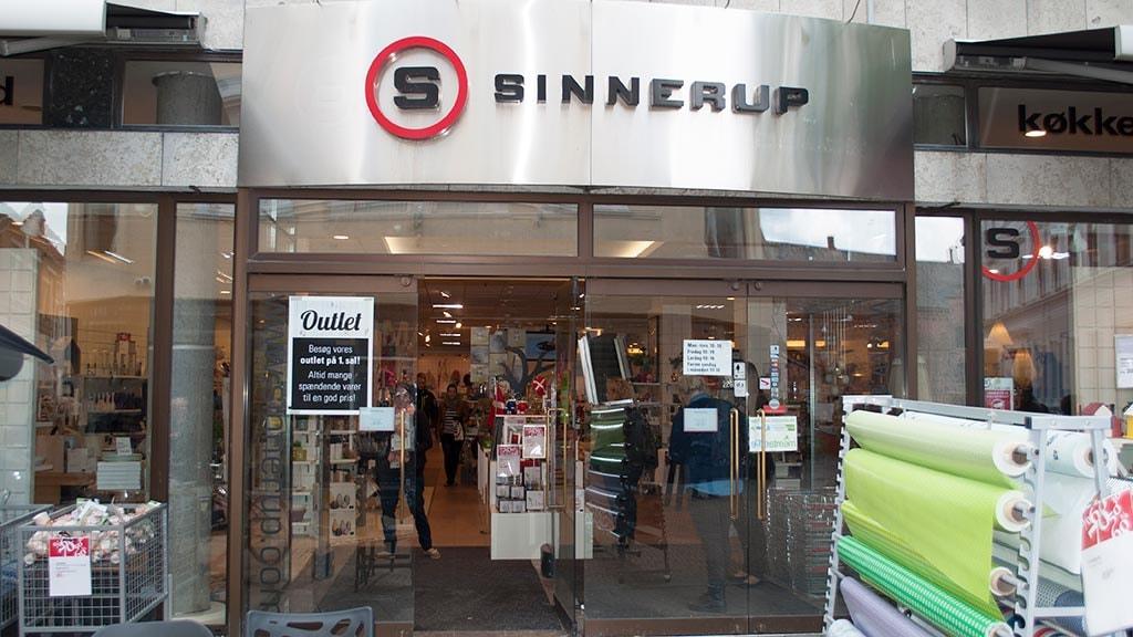 Sinnerup i Vestergade i Odense