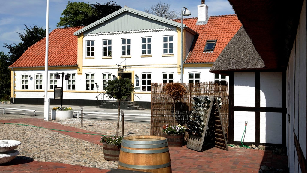 Fladbro Kro ved Randers
