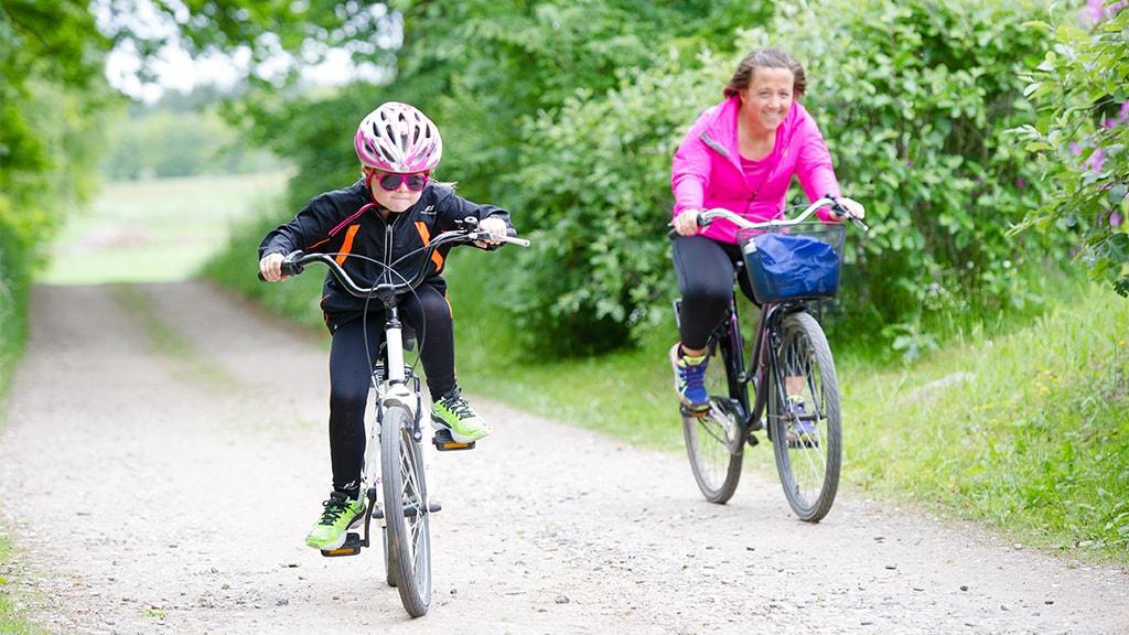 Biking in Randers