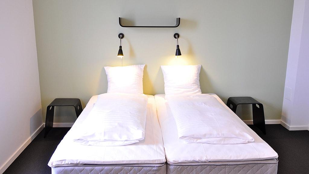 Motel X room