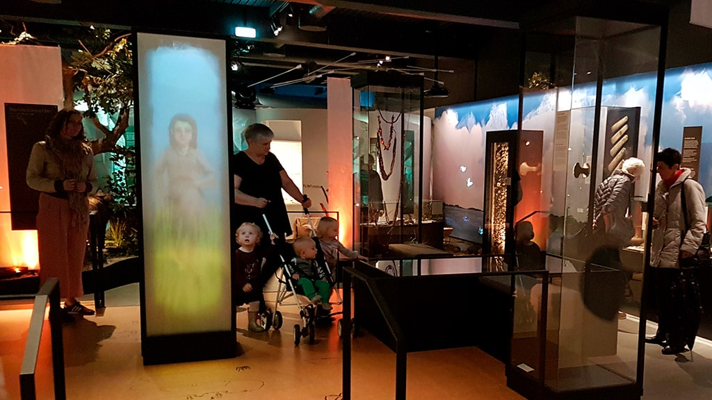Museum Østjylland i Randers oldtiden udstilling