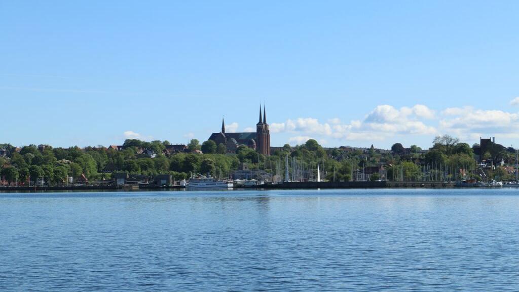 Domkirken set fra vandet