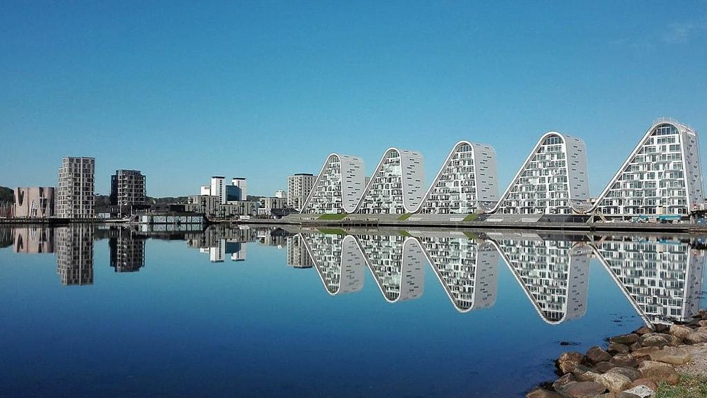 Vejle's waterfront