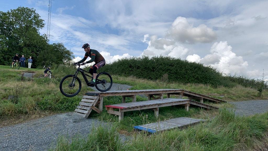 Cykelrute: Dragehalen - teknikspor ved Brandbjerg Højskole