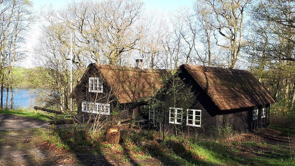 Blokhuset spejderhytte ved Hald Sø